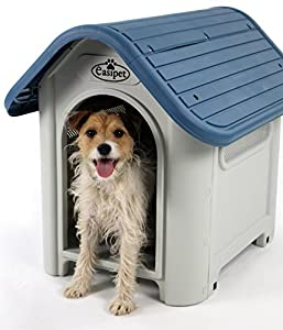 Plastic Dog Kennel Weatherproof for Indoor and Outdoor Use (940)- Only Far East Direct UK supplies Easipet branded item Product code FED 21940
