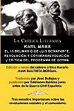 Karl Marx: El 18 Brumario, Revolucion