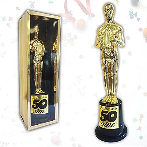 Anniversaire - Trophée de star 50 ans