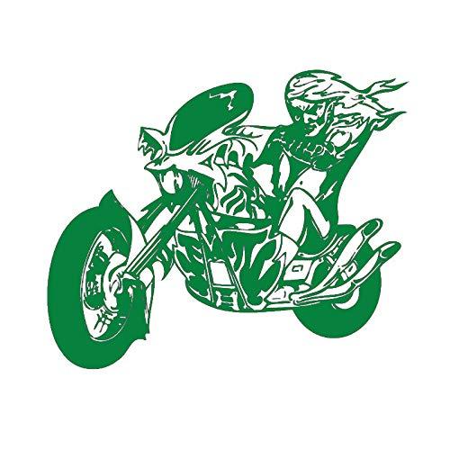 Guijiumai Dctal Motocicleta Pegatina vehículo cráneo