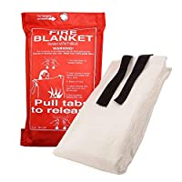 Fire Blanket - 1.2m - White