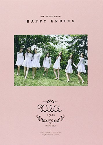 2nd-album-happy-ending-cd-84pg-photobook-bookmark-by-dia