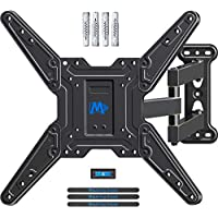 Mounting Dream TV Wall Bracket Mount Swivel and Tilt for most 26-55 Inch LED, LCD and OLED Flat Screen TVs up to VESA 400x400mm and 27 KG, Full Motion TV bracket with Strong Articulating Arm