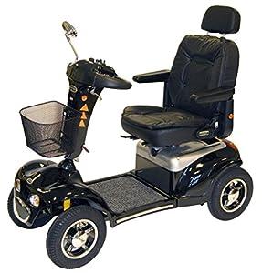 Roma Medical (Shoprider) Cordoba Class 3 Mobility Scooter 75Ah - Black