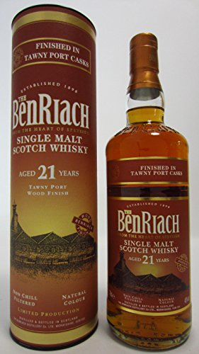 BenRiach - Tawny Port Wood Finish - 21 year old Whisky