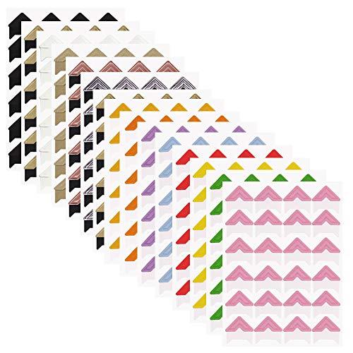 FineGood - 15 hojas de pegatinas de papel autoadhesivas para álbum de recortes, diario, organizador...