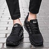 Fexkean Unisex Sportschuhe Laufschuhe Turnschuhe Atmungsaktiv Sneakers Air Sport Casual Shoes Herren Damen - 7