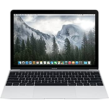 Apple MacBook MF855HN/A 12-inch Retina Display Laptop (Intel Core M/8GB/256GB/OS X Yosemite/Intel HD Graphics 5300), Silver