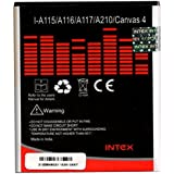 Micromax Canvas 4 A210 Battery in Intex Original 1700mAh by 1by1