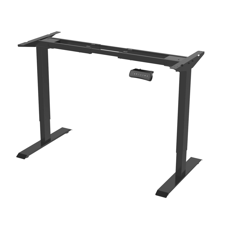 Flexispot ED2B elektrisch höhenverstellbarer Schreibtisch, elektrisches Tischgestell, Softstart/-Stop