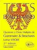 Tests d'allemand: Questions à choix multiples de grammaire & structures...