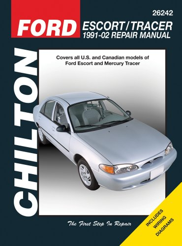 Chilton's Ford Escort / Tracer 1991-02 Repair Manual: Covers All U.s. and Canadian Models of Ford Escort and Mercury Tracer 1991 Through 2002