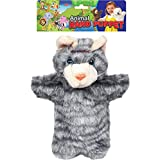 WonderKart Awals Soft And Plush Animal Hand Puppet - Cat (Color May Vary)