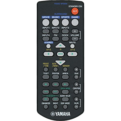 Yamaha fsr20Barra sonido mando distancia