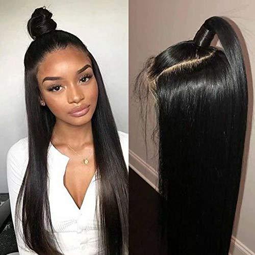 Lace Baby-haar-perücke (Maxine 360Spitze Perücke gerade brasilianisches Virgin 360fronthaar Echthaar Perücke mit Baby Haar 130Dichte)