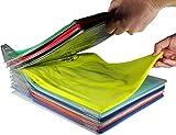 Flyhigh Closet Organizer and Shirt Folder, kleidung organizer für Schrank oder Schublade | Regular Size,20-Pack