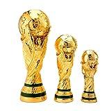 mongrep Trofeo Deportivo Hollow Resina Crafts Trofeo de fútbol de la Copa del Mundo de Trofeo como el Regalo Original