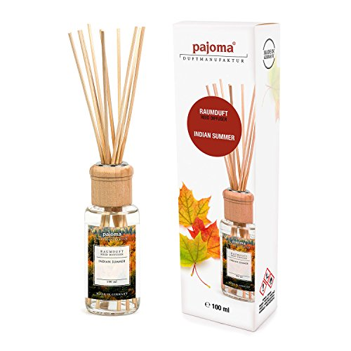 pajoma Raumduft Indian Summer, 1er Pack (1 x 100 ml) in Geschenkverpackung
