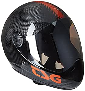 TSG Helm Pass Solid Color, Carbon Black, S, 750085
