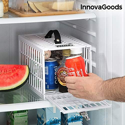 GKA Kühlschrankbox mit Zahlenschloss Kühlschrankschloss Fridge FOOD SAFE Kühlschrank Schloss Tresor Box Safe ideal für Büro WG