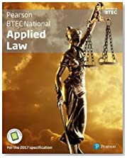 BTEC National Applied Law student book + Active book: For the 2017 specifications (Applied Law BTEC)