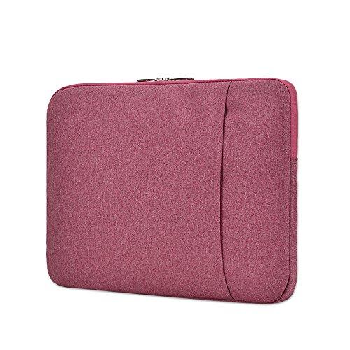 Jia HU 1Unisex Laptop Sleeve Notebook Aktentasche Portfolio Tablet Fall Bag Travel Schule Büro rosarot (Ipad 2 Portfolio-fall)