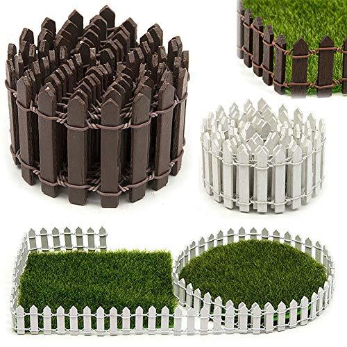 BESTEU Miniature clôture Jardin décor fée kit de Jardin fée Accessoires de clôture