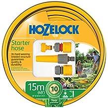 Hozelock 7215 9000 - Manguera de jardín, color amarillo