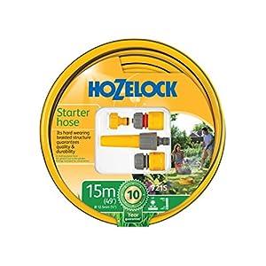 Hozelock 7215 9000 – Manguera de jardín, Color Amarillo