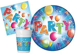 Ciao-Kit Party Tabla, multicolor, S (8personas), y4630