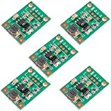 iHaospace Mini DC to DC Voltage Regulator Step Up Boost Converter Power Supply Module 1V-5V to 5V 500mA (Pack of 5)