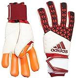 adidas Erwachsene Handschuhe ACE Zones PRO, Rot/Weiß, One size, 4056562820576