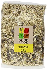 Mintons Good Food Pre-Packed Original Muesli 1 Kg (Pack of 5)