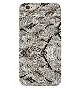Stylish Rock Wallpaper 3D Hard Polycarbonate Designer Back Case Cover for Apple iPhone 6 Plus :: Apple iPhone 6+