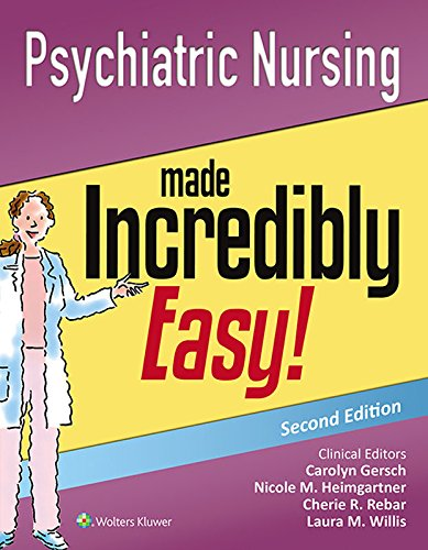 Psychiatric Nursing Made Incredibly Easy Includes DSM 5 PDFEPUB AUDIOBOOKEBOOK Just Here
