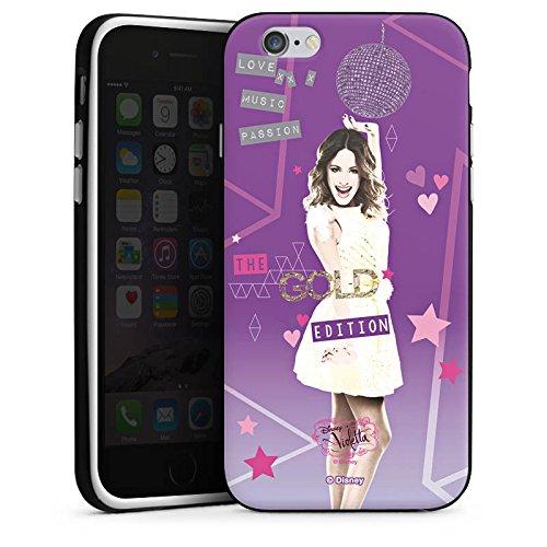 Apple iPhone X Silikon Hülle Case Schutzhülle Disney Violetta Fanartikel Zubehör Silikon Case schwarz / weiß