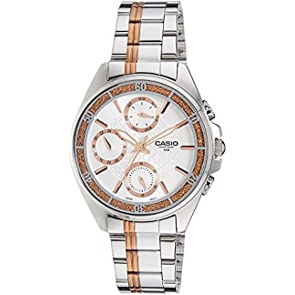 Casio Enticer Silver Dial Women's Watch – LTP-2086RG-7AVDF (A857)