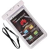 ZeWoo 5,7 pulgadas universal noctilucence funda bolsa móvil Impermeable con correa para el cuello para Huawei Ascend Y520 / Y530 / Y540 / Y550 / Y600 / Y625 / Y635 / Y5 / Y560 / Honor Bee Y5C / Y541