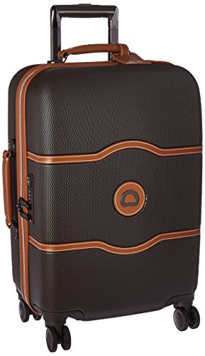 delsey-luggage-chatelet-hard-21-carry-on-4-wheel-spinner-chocolate