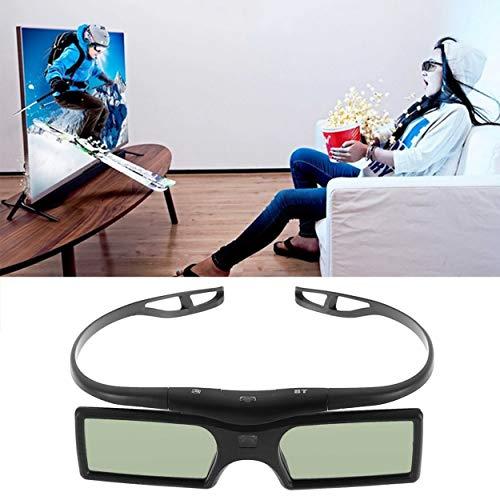 Lorenlli 1 stück Bluetooth 3D Shutter Aktive Brille für Samsung für Panasonic für Sony 3DTVs Universal TV 3D Brille