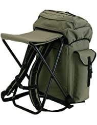 DAM angler´s backpack with chair
