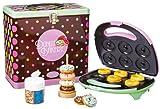 Simeo 500970271 DonutMaker mit Blechdose mit Zubehör