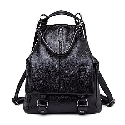 BOYATU Genuine Leather Backpack for Women Purse Ladies Daypacks Shoulder Bag - fashion-backpacks