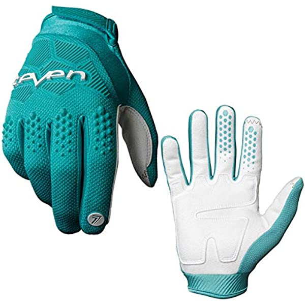 Amyove Cycling Gloves MTB Gloves Moumtain Bike Windproof Off Road Motorcycle Gloves Non-Slip MTB Motocross Small blue