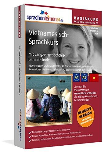 Preisvergleich Produktbild Sprachenlernen24.de Vietnamesisch-Basis-Sprachkurs: PC CD-ROM für Windows/Linux/Mac OS X + MP3-Audio-CD für MP3-Player. Vietnamesisch lernen für Anfänger