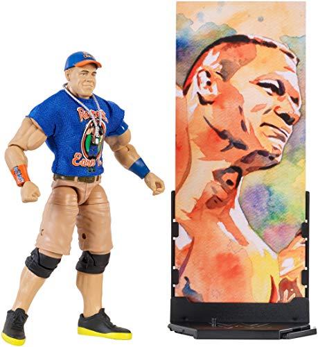 Mattel FMG26 WWE John Cena 15 cm Elite Figur, Spielzeug Actionfiguren ab 6 Jahren