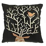 Come2buy Housse en lin/coton assise de chaise canapé housse de coussin taie d'oreiller décoratif Insert non inclus