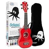 Octopus UK200D-RD - Ukelele soprano,...