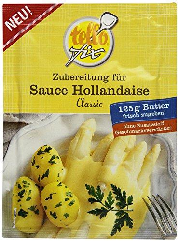 tellofix Zubereitung für Sauce Hollandaise, 10er Pack (10 x 32 g)