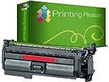 Printing Pleasure Toner kompatibel zu CE263A für HP Color Laserjet CP4025 CP4025DN CP4025N CP4520 CP4520DN CP4520N CP4525 CP4525DN CP4525N CP4525XH CM4540 CM4540F CM4540MFP - Magenta, hohe Kapazität